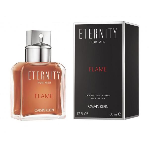 Eternity flame for men -  eau de toilette spray 50 ml