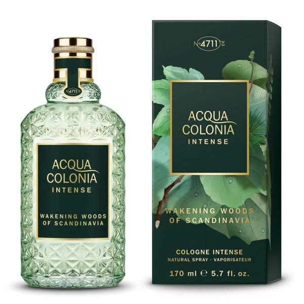 Acqua colonia intense wakening woods of scandinavia -  cologne intense spray 170 ml