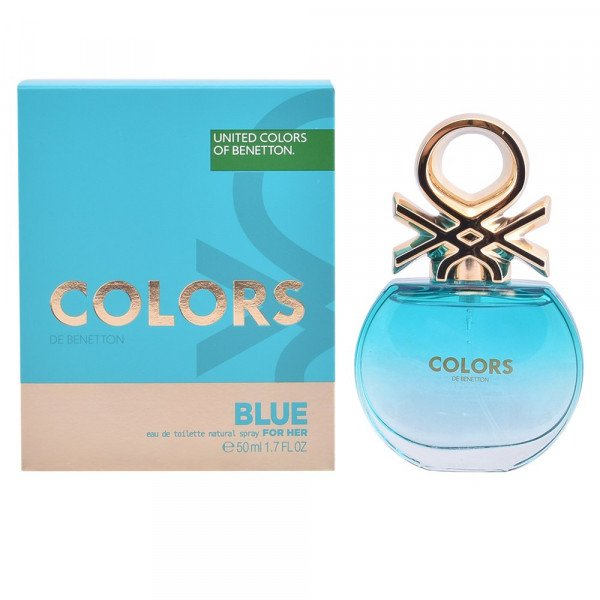Colors blue -  eau de toilette spray 50 ml