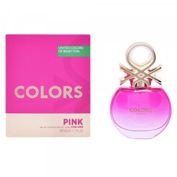 Colors pink -  eau de toilette spray 50 ml