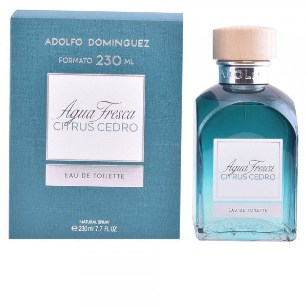 Agua fresca citrus cedro -  eau de toilette spray 230 ml