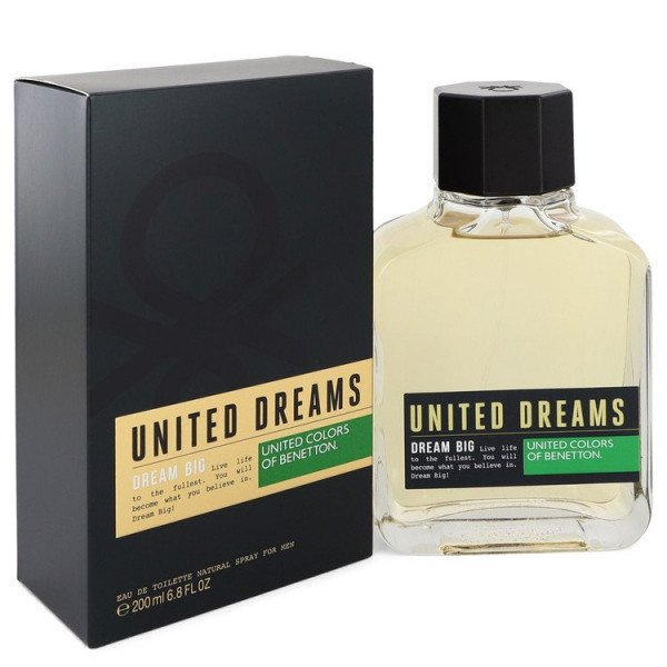 United dreams dream big -  eau de toilette spray 200 ml