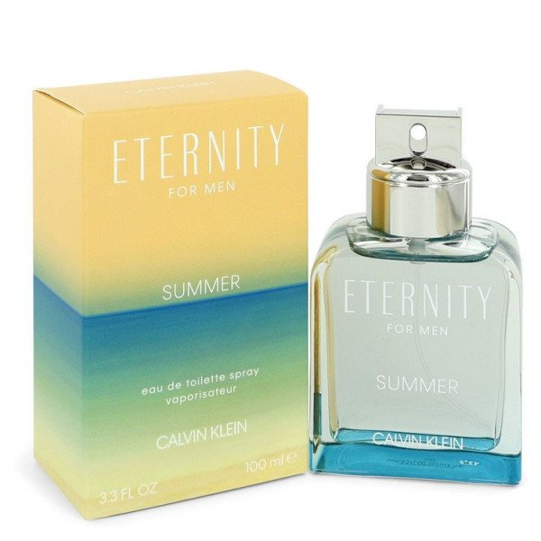 Eternity summer - calvin klein eau de toilette spray 100 ml