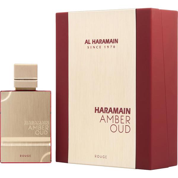 Haramain amber oud rouge -  eau de parfum spray 60 ml