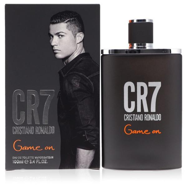 Cr7 game on -  eau de toilette spray 100 ml