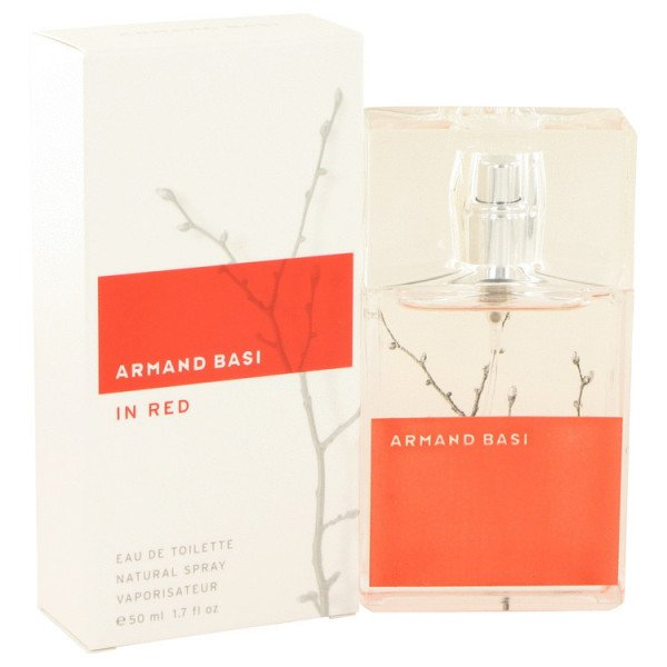 in red -  eau de toilette spray 50 ml