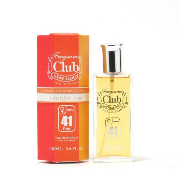 Frag club 41 - giorgio  eau de parfum spray 100 ml
