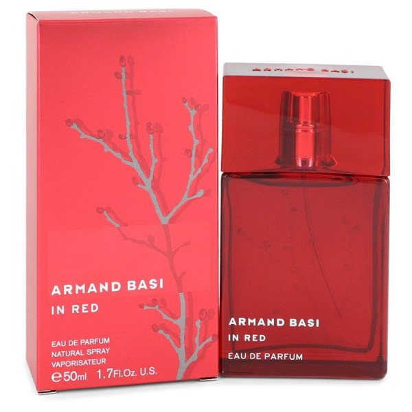 in red -  eau de parfum spray 50 ml