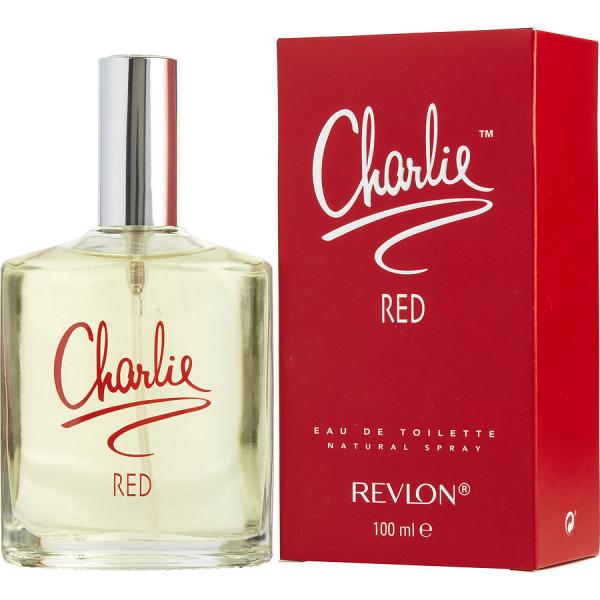 Charlie red -  eau de toilette spray 100 ml