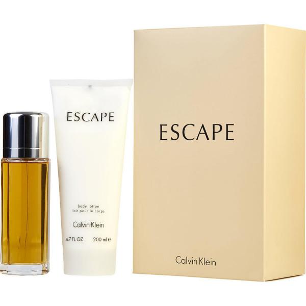 Escape pour femme -  coffret cadeau 100 ml