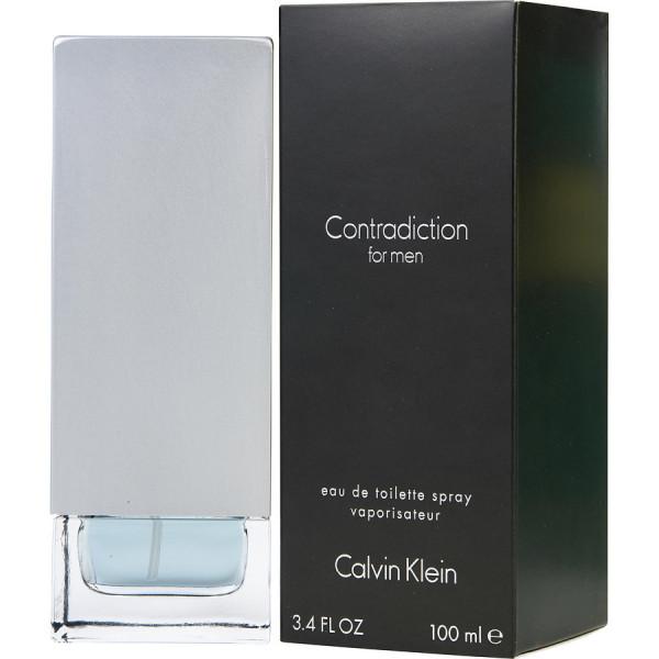 Contradiction for men -  eau de toilette spray 100 ml