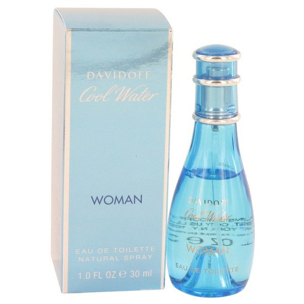 Cool water pour femme de  eau de toilette spray 30 ml