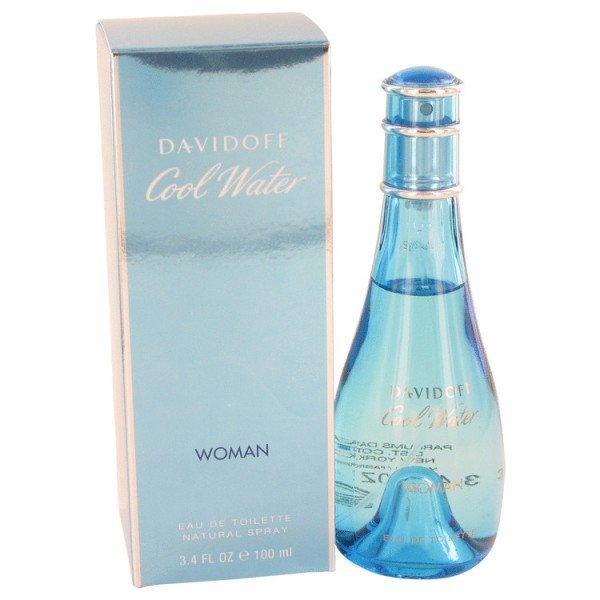 Cool water pour femme de  eau de toilette spray 100 ml