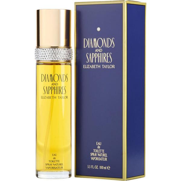Diamonds & saphires -  eau de toilette spray 100 ml
