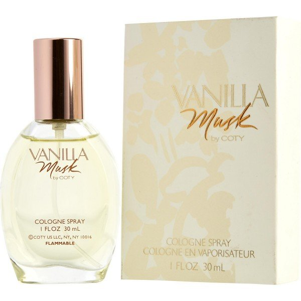 Vanilla musk -  cologne spray 30 ml